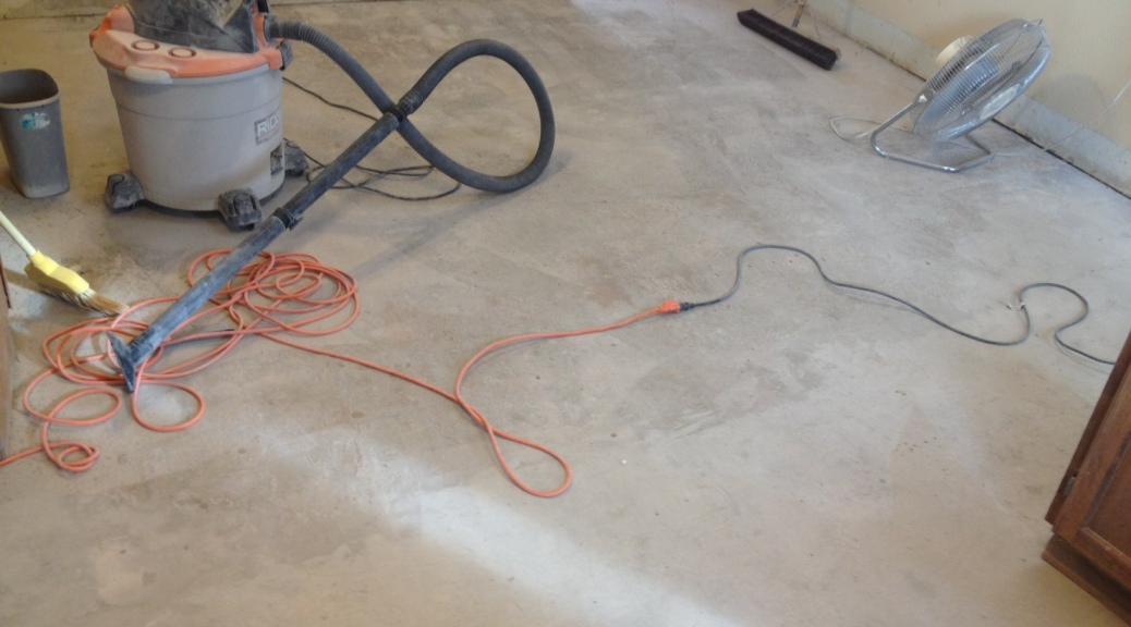 How To Remove Thin Set From Concrete Floor Lucky Girl Brake
