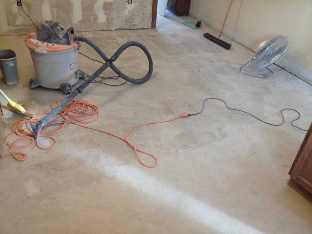 How to remove thin set from concrete floor lucky girl brake for What can i do to my concrete floor