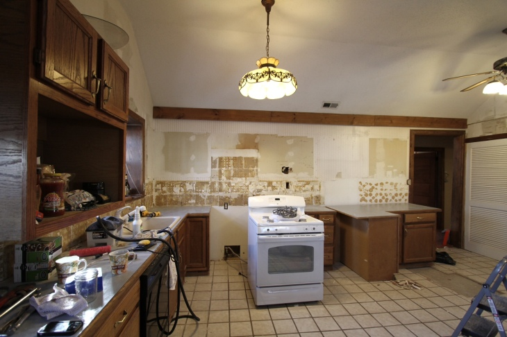Without Kitchen Cabinets