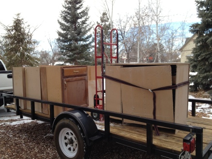 ktchn cabinets on trailer 2